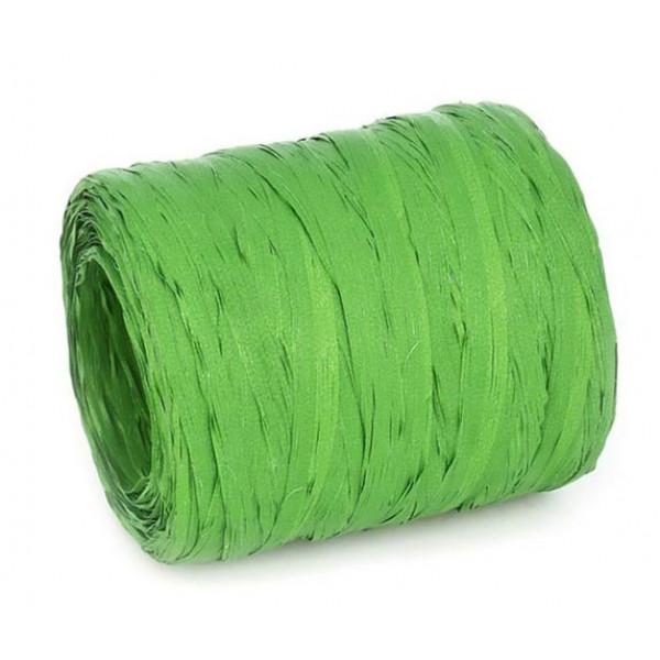 Рафия однотонная, зеленая, 1 м 1169161