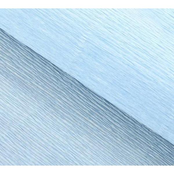 Бумага гофриров Италия 959 нежно-голуб1/2рул  50смх1.25м 1267486