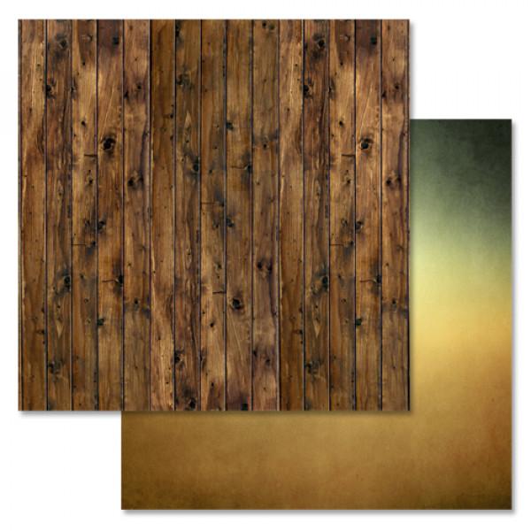 """Бумага """"Дембельский альбом. Доски"""" 30,5см (ScrapMania)144525"""