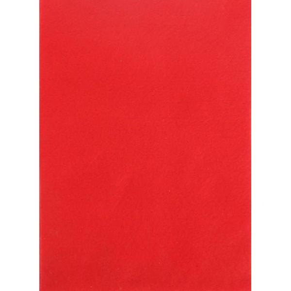 """Фетр """"Красный"""" 1 мм 1лист  формат А4 1644593"""