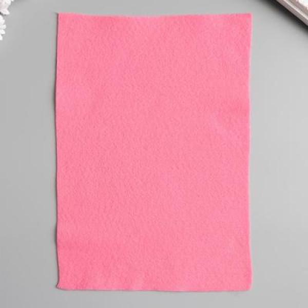"""Фетр """"Розовый"""" 1 мм А4 1644594"""