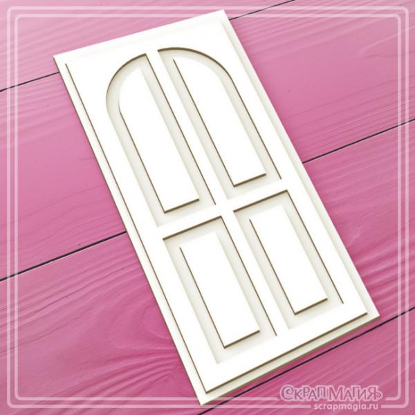 "ОПТ 3D чипборд ""Дверь"" 70х140 мм  ЧБ-1734"