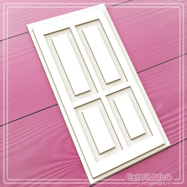 "ОПТ 3D чипборд ""Дверь"" 70х140 мм  ЧБ-1735"