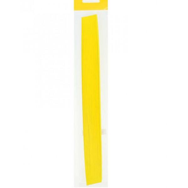 Бумага для квиллинга набор 125 л, 160 г, толщ. 3 мм желт 2134523