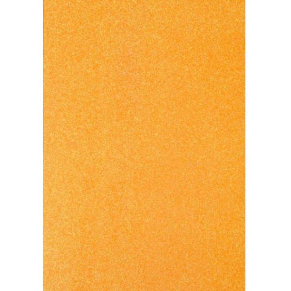 "Фоамиран ""Оранжевый блеск"" 2 мм формат А4 1лист 2277718"