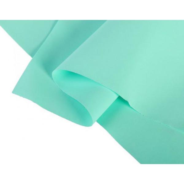 Фоамиран иранский 0,8-1 мм,аквамарин 60х70см 2638887