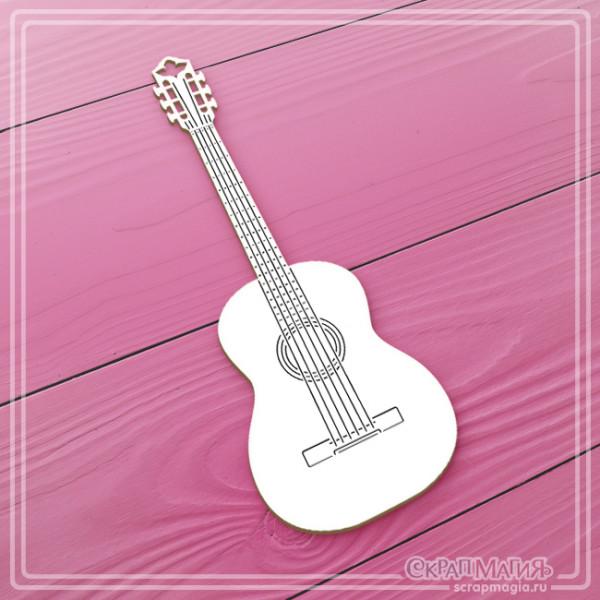 """ОПТ Чипборд """"Гитара"""" ЧБ-271"""