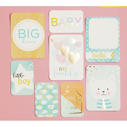 Карточки с фольгированием My Family 2792952