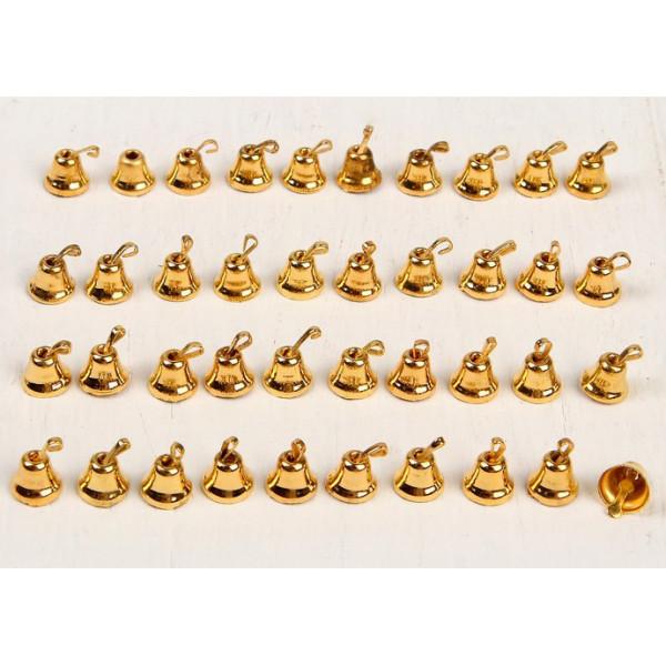 Колокольчик,  5 шт., размер 1 шт. 0,6 см, цвет золотой 3463725