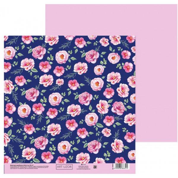 Бумага  «Цветущий сад», 20х21.5 см 3886651