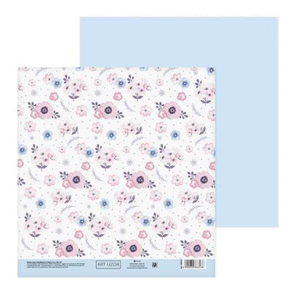 Бумага  «Цветочный аромат», 20х21.5 см, 180 г/м 3886653