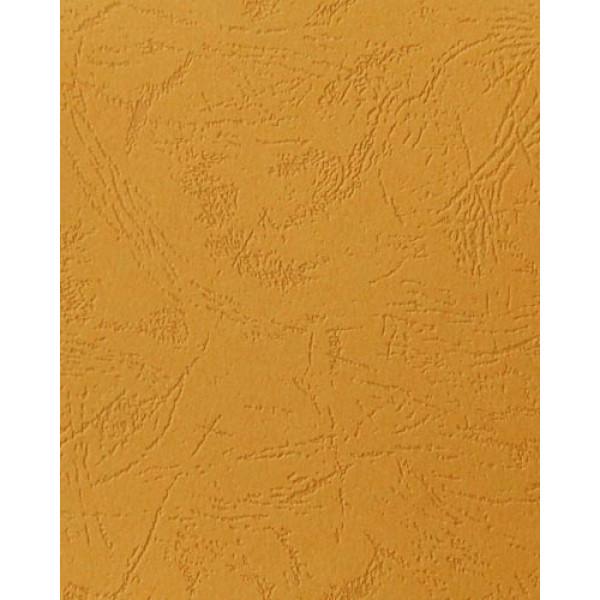 """Дизайнерский картон """"под кожу""""цвет охра, А4"""