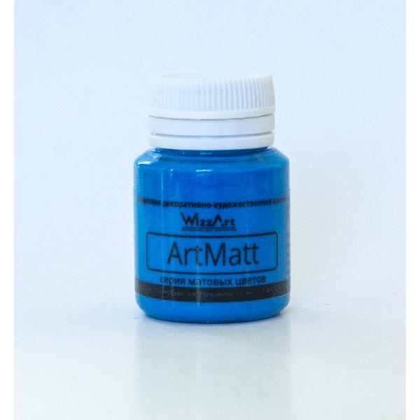Краска акриловая ArtMatt 20мл WizzArt WT16 Голубой
