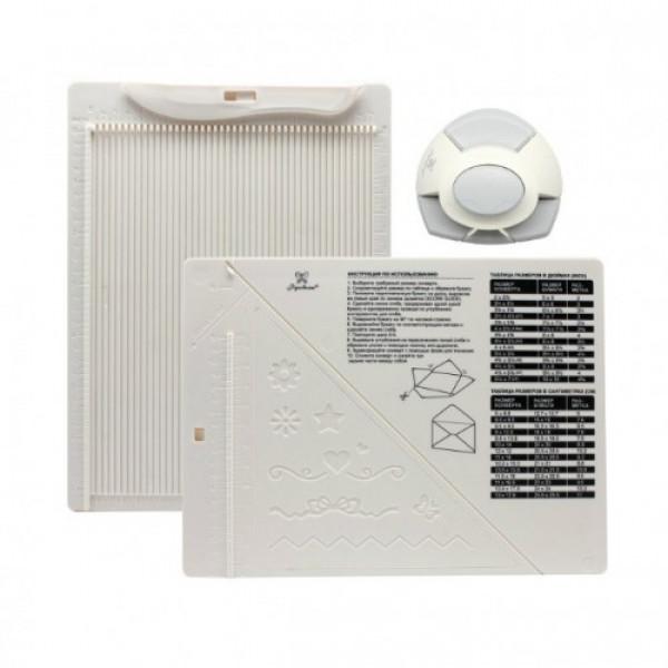 Доска для биговки в комплекте с дыроколом Рукоделие DDB-K01