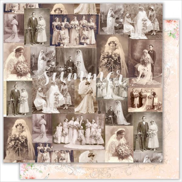 "Бумага ""VINTAGE WEDDING"" 30,5см SS20122019-4"