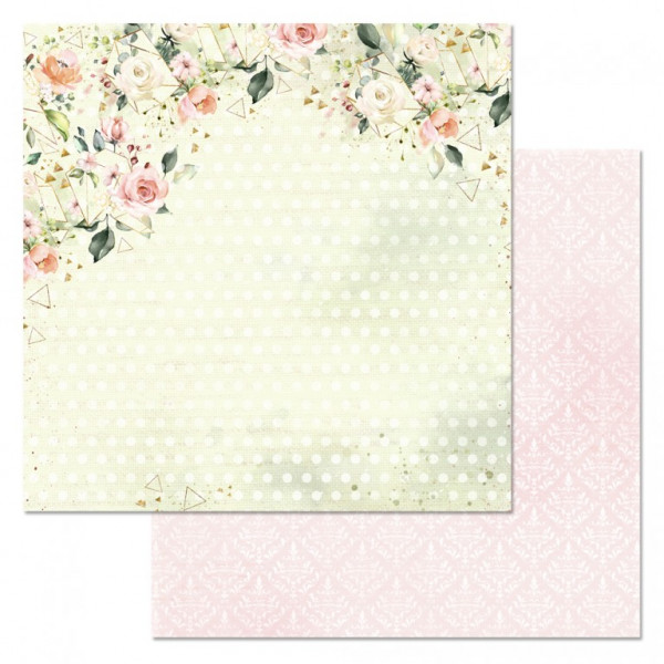 """Бумага """"Мечты невесты. Влюбленност"""" 30,5 см  (ScrapMania) 168905"""