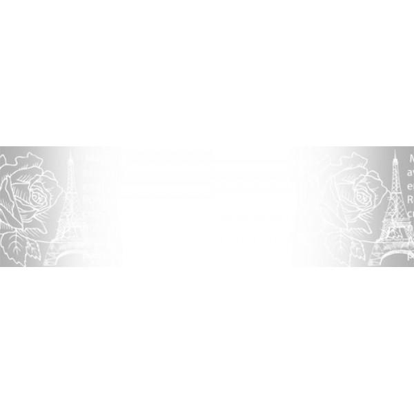Прозрачный пластиковый скотч  Эйфелева башня 15мм*10м 490030