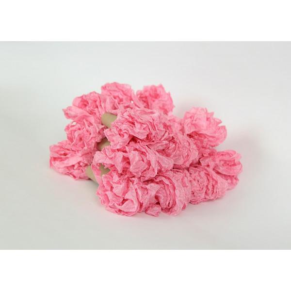 Шэбби лента - Розовый леденец / 2,5 м в упак
