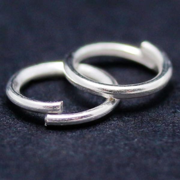 Кольца соединит одинарные MAGIC 4 HOBBYMH.111929-2 цв сереб 10гр