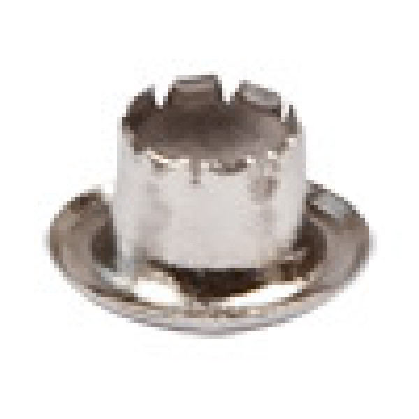 """Блочки (люверсы)  никель """"Micron"""" EFN-04 d 4 мм 100 шт"""