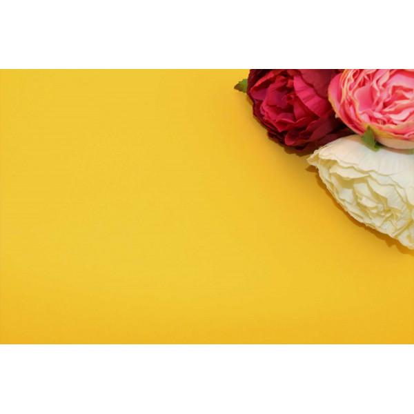 Фоамиран китайский (тёмно-желтый) 1мм , 48см*48см(Китай) 30/100