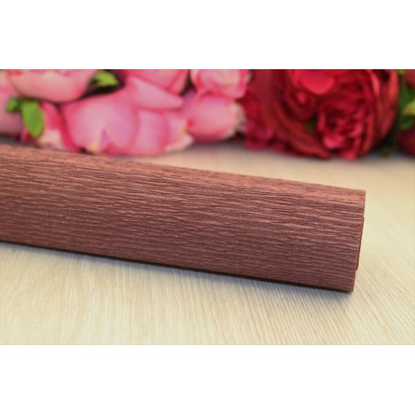 Гофрированная бумага 1/2 рулона коричнев 50см*1,25м N40/32
