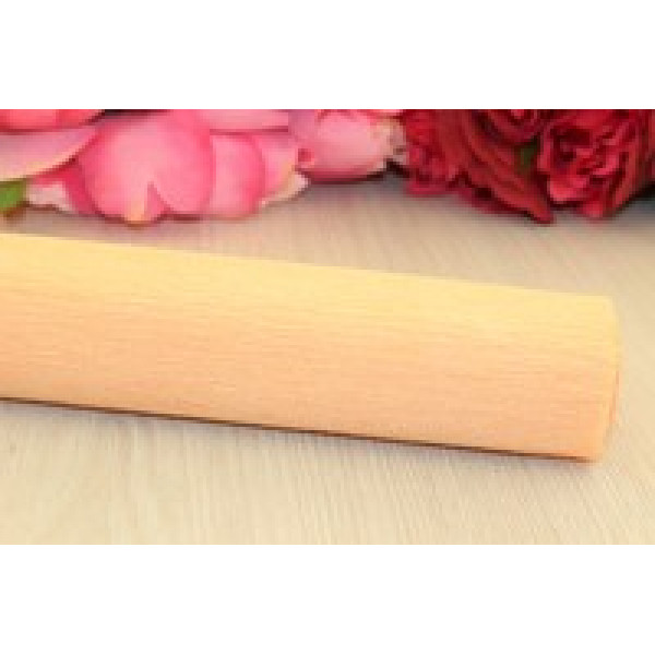 Гофрированная бумага 1/2 рулона персиковая 50см*1,25м N40/72