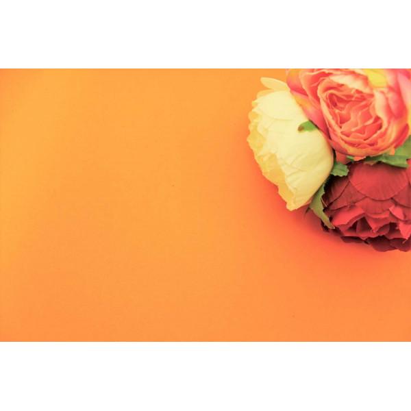 Фоамиран китайский (оранжевый) 1мм  48см*48см (Китай) 30/110