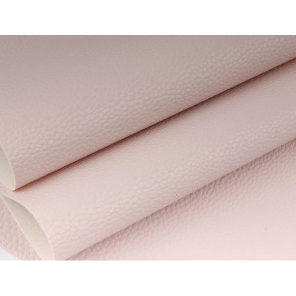 """Кожзам """"Классик"""" (бледно-розовый), 30*70 см (+-2см) B160/225"""