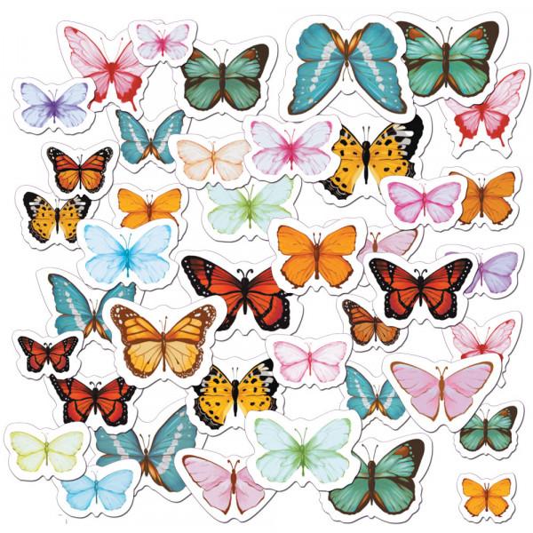 Вырубка  CIB-07 03 Бабочки (яркие)