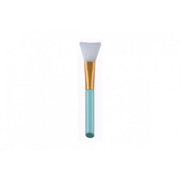 Кисть для клея силиконовая, голубая 4559