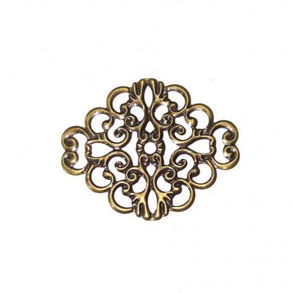 Декор украшение 3х3,8 см 1шт 1666