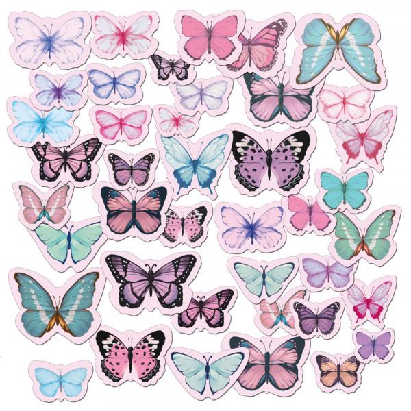 Вырубка  CIB-07 02 Бабочки (нежные)