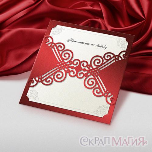 Приглашение на свадьбу со вкладышем (пр-002)