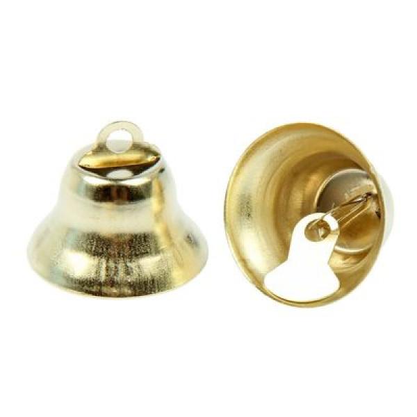 Декор колокольчик металл d2,1см 1шт. 1364524
