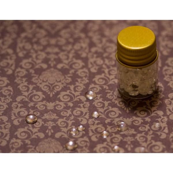 Декор имитация капель росы микс 6,4,3 мм около 130шт
