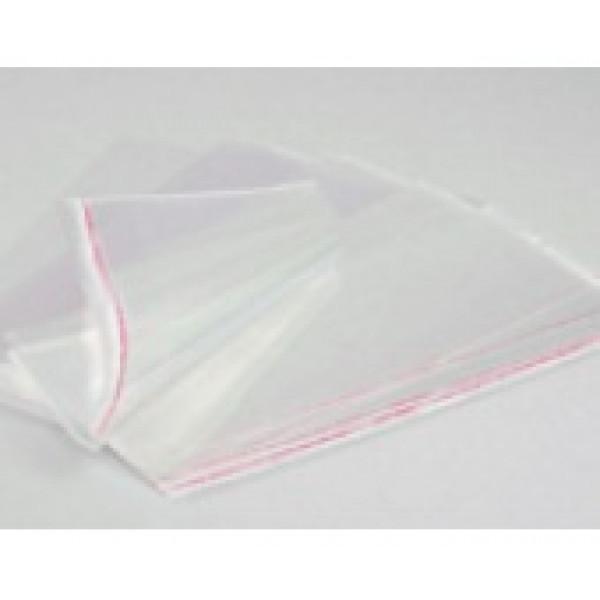 Пакеты с липкой лентой для упаковки открыток 17х25 см., 10 шт