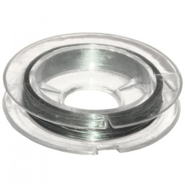 Проволока d.0,3мм 10м цвет под серебро DG-3 металл